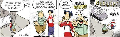preoccupied cartoon