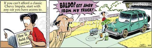 custom vehicles cartoon