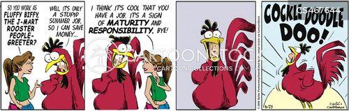 corporate mascots cartoon