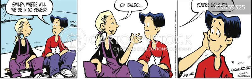first breakups cartoon