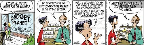 store clerks cartoon