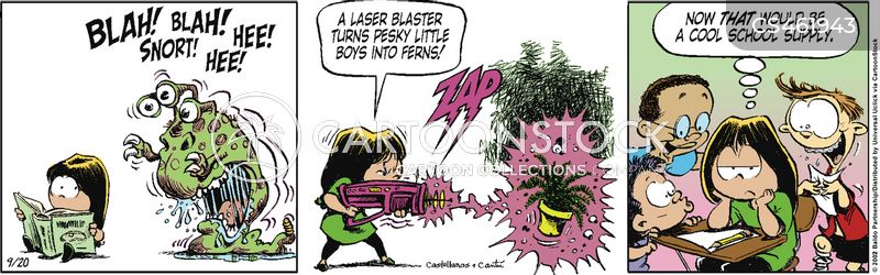 laser gun cartoon