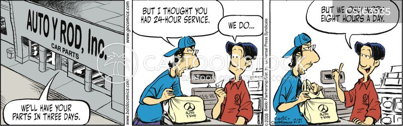 auto part cartoon
