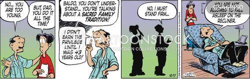 family tradition cartoon