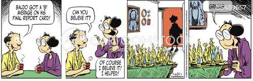 grade point average cartoon