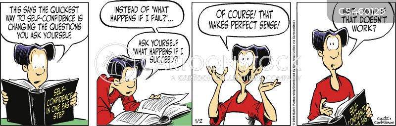 secrets of success cartoon