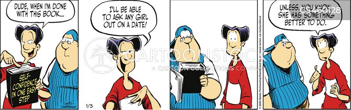 confidence boost cartoon