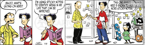 self-improve cartoon