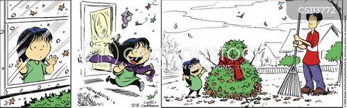 unseasonably warm cartoon