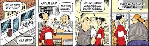 latino cartoon