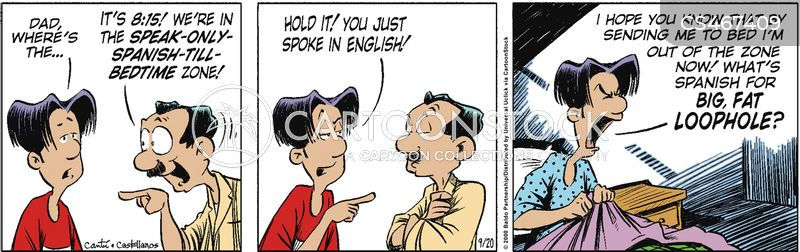 learning languages cartoon