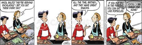 enchiladas cartoon