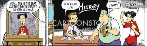 casual racism cartoon