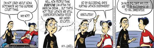 leftist cartoon
