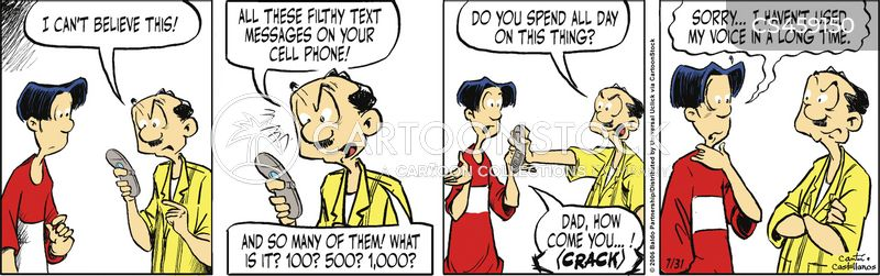 textspeak cartoon