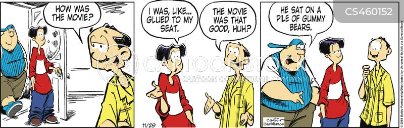 Cinema Seating Cartoons And Comics Funny Pictures From Cartoonstock