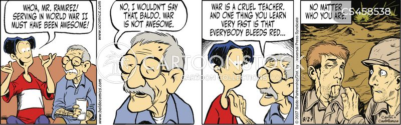 war stories cartoon