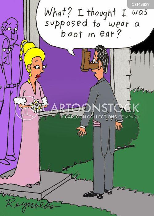 prom date cartoon