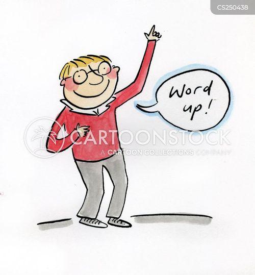 slangs cartoon