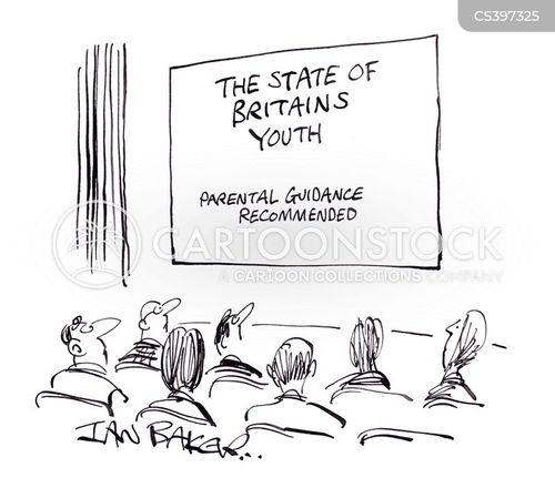 british culture cartoon