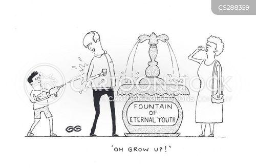 eternal youth cartoon