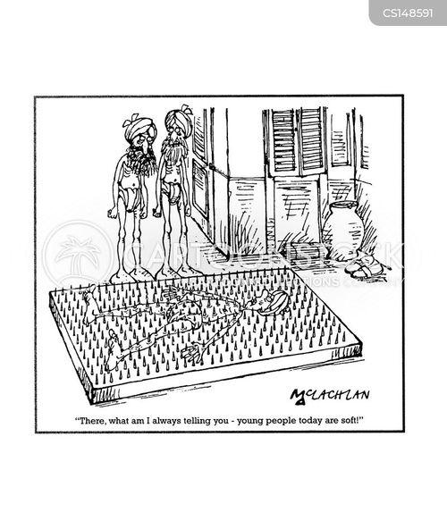 nail beds cartoon