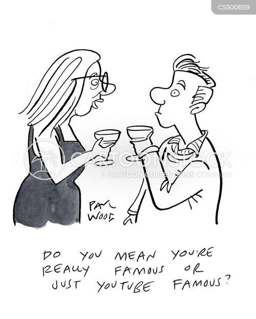 vloggers cartoon