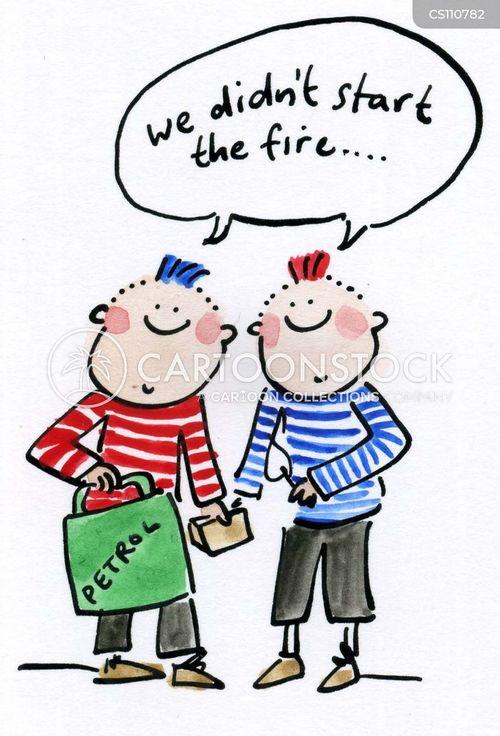 we will start a fire