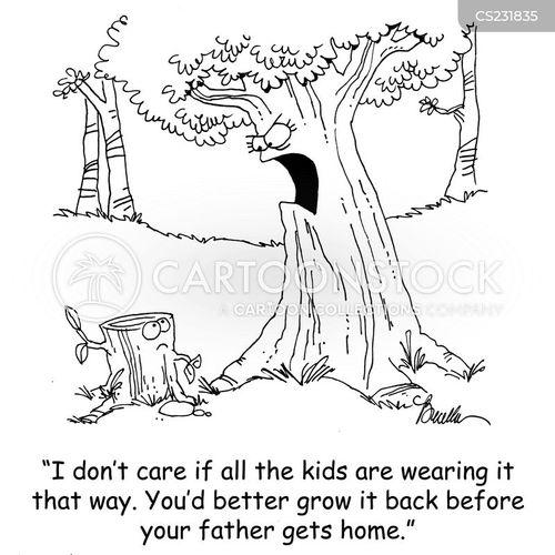 stumps cartoon