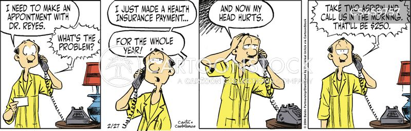 united states health care cartoon