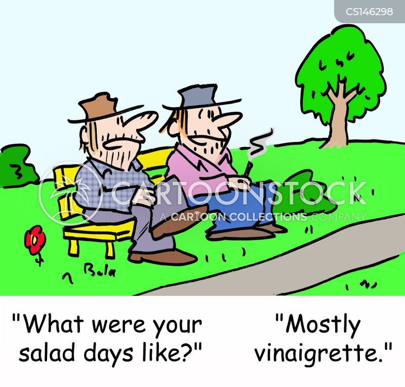 salad day cartoon