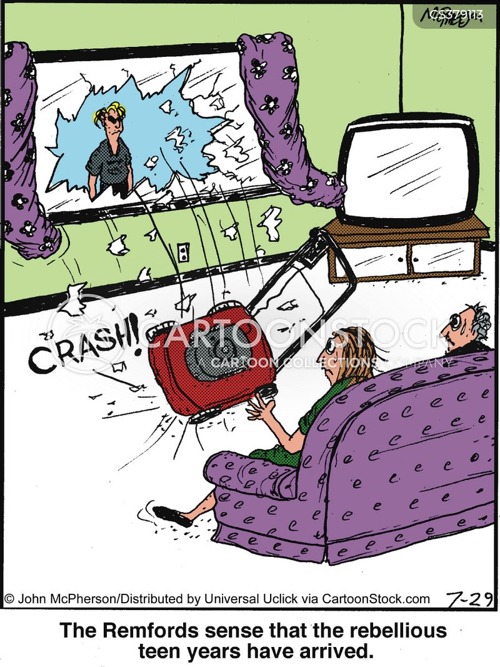 bad temper cartoon