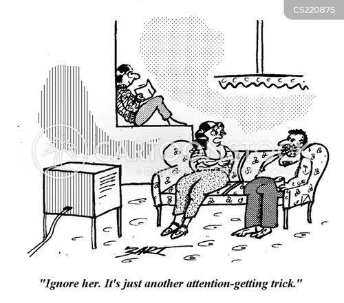 attention grabbing cartoon