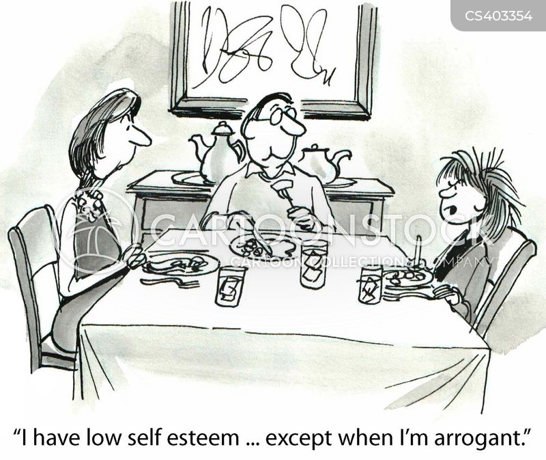 multiple personality cartoon