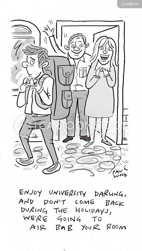 university degree cartoon