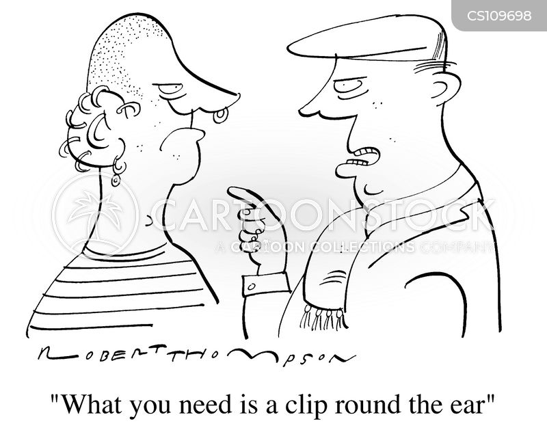 ear ring cartoon