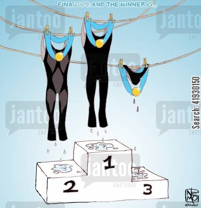 swims cartoon humor: Fina 2009: And the Winner is...