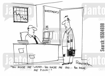 made poor cartoon humor: 'You made me laugh...you made me cry...you made me poor!'