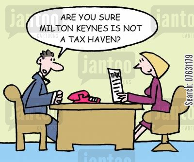 milton keynes cartoon humor: Are you sure Milton Keynes is not a tax haven?
