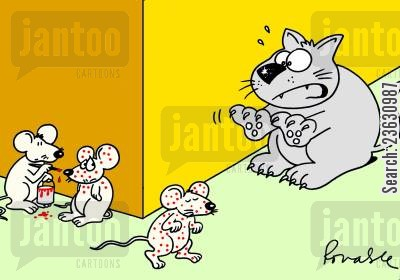 cunning cartoon humor: Mouse Defence