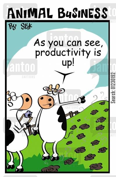 producing cartoon humor: Animal Business