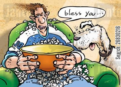 bless you cartoon humor: 'Bless you...'