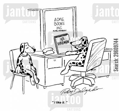 dalmatians cartoon humor: 'I like it.'