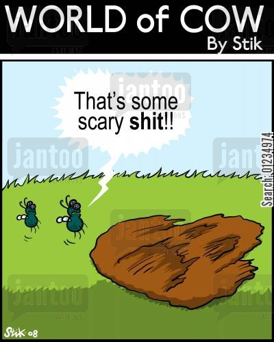 fearfully cartoon humor: That's some scary SHIT!!