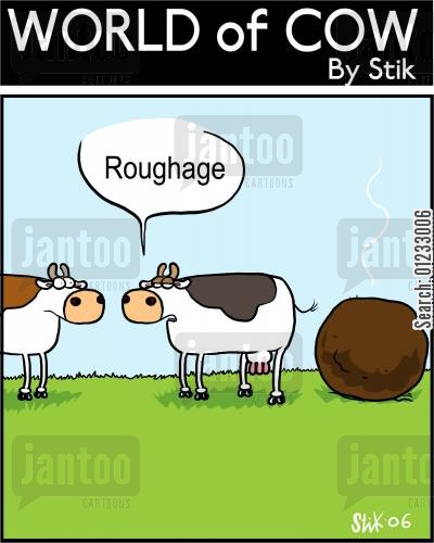 roughage cartoon humor: Roughage.