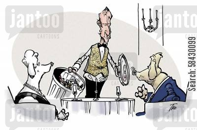 fine wine cartoon humor: The Connoisseur.