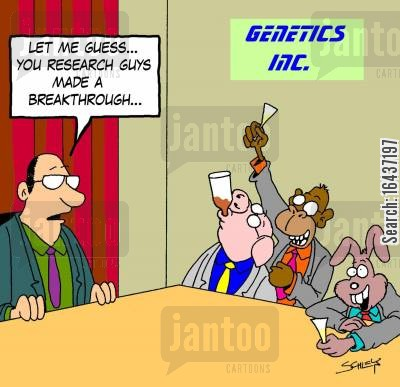 breakthrough cartoon humor: 'Let me guess... you research guys made a breakthrough...'