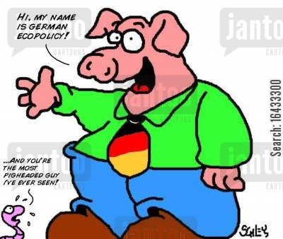 ecopolicy cartoon humor: German Ecopolicy.