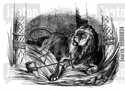 aesop's fables cartoon humor: Aesop's Fables - The Lion and the Mouse