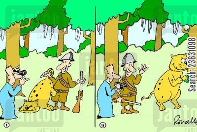 poacher cartoon humor: Ethical Poachers